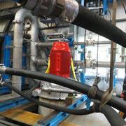 Turbinenprüfstand der Firma Häny AG, Jona