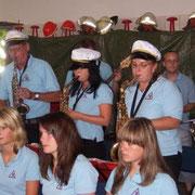"""unser Saxophonsatz bei """"Eine Reise ins Glück"""""""