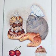 Canel le pâtissier - Stylo bille