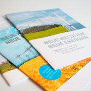 Portfolio Dorina Rundel - Grafikdesignerin: Netzentwicklungsplan - Printdesign Broschüre