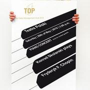 Portfolio Dorina Rundel - Grafikdesignerin: B/S/H Bosch-Siemens-Haushaltsgeräte Mitarbeiterevent - Plakatdesign