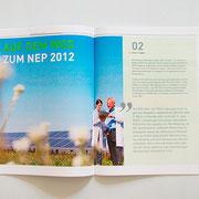 Portfolio Dorina Rundel - Grafikdesignerin: Netzentwicklungsplan - Coporate Publishing