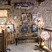 A l'étage : Jean-Jacques Ligot, Lamp'Art