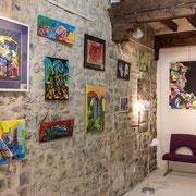 A l'étage : Nathalie Couyère, Foulonjm Photographies, Sébastien Malacarne
