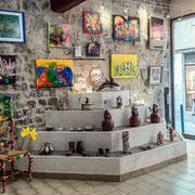 En vitrine - Colin Zmirou-Macbride, Nathalie Couyère, Hubert Lombard, Atelier Terre et Papier, ANAHID céramiques