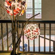 A l'étage : Lamp'Arts