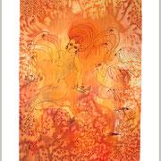 Die Tänzerin, 60 x 44