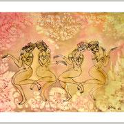 Tänzerinnen, 54 x 40