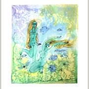 Tanz des Meeres, 55 x 44