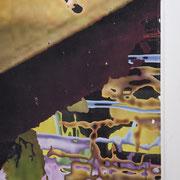 q17_detail, Décalcage auf Holz, 120 cm x 120 cm, 2008