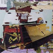 q17, Décalcage auf Holz, 120 cm x 120 cm, 2008