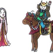 NHK大河ドラマ「功名が辻」説明イラスト