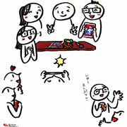出版記念パーティー ドキドキの撮影編