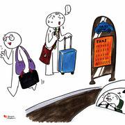 初めての海外出張 移動でハラハラ