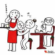 カフェ 先輩のご指南編