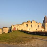 Vue du château par le sud