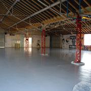 L'ancien local du CAJ, rénové, sera un vaste hangar pour le matériel nautique.