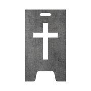 Feuertonne Kreuz