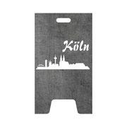 Feuertonne Skyline Köln