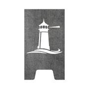 Feuertonne Leuchtturm