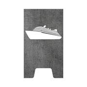 Feuertonne Kreuzfahrtschiff