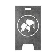 Feuertonne Logo Elefant