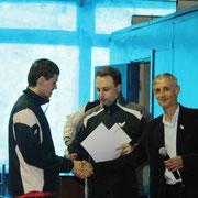 Награждение Бердичевского Сергея, победителя в Категории рейтинг 20-40