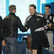 Награждение Ткаченко Владимира, победителя в Категории рейтинг 0-20