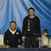 Олег Филенко, тренер Кондратенко Виктории, победительницы турнира среди девушек