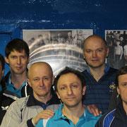 Сверху, слева на право: Каплун Артем, Кошкодан Игорь, Кацубо  Максим, Павлина Сергей, Михалко Владимир, Кабан Михаил, Левадный Александр