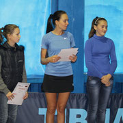 Победительницы турнира среди девушек