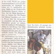 der reporter Wochenblatt. Mittelalter Katharinenhof auf der Insel Fehmarn Juli 2011