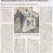 BRAWO Regionalzeitung Ketzin, 850 Jahrfeier von Tremmen/Brandenburg 10.07.2011