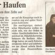 Regionalzeitung Bad Kreuznach, Rheinland/Pfalz Aug. 2008, Pfaffen-Schwabenheim