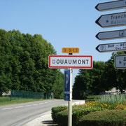 Douaumont village détruit