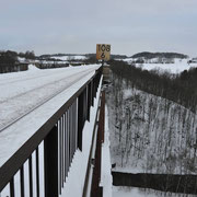 Talseite Richtung Greiz Januar 2011