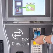 Zahlung mit Karte (VISA, Mastercard, Maestro/Bankomat)