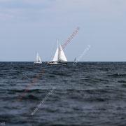 Segelboote auf der Ostsee