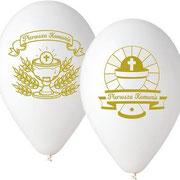 balon pierwsza komunia święta