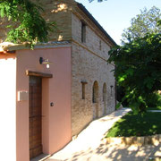 Edificio minore - lato sud