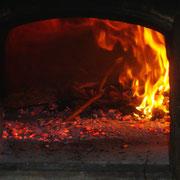Intanto il forno si scalda.