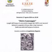 Dietro il Paesaggio - La locandina