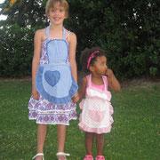 Giovani cameriere crescono: Umi e Nicole.
