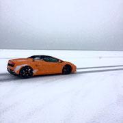 PKW Winter Fahrertraining auf Schnee