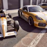 Rennauto fahren Hockenheimring Porsche