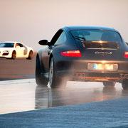 Porsche Drift Renntaxi