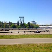 Elektro Kartbahn Deutschland miten