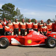 Formel 1 Rennwagen selber fahren