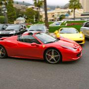 Ferrari Sportwagen fahren