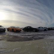 Winter Motorsport Schnee Fahrertraining Event